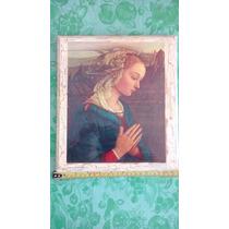 Cuadro Madonna Sin Niño De Boticelli. Renacimiento 1478 D.c