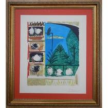 Litografía - Studio - Pablo Picasso, 1957.