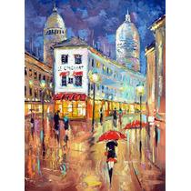 Lights Of Paris - Cuadros, Pinturas Al Oleo De Dmitry Spiros