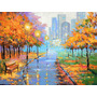 Autumn In The Big City - Cuadros, Pinturas De Dmitry Spiros