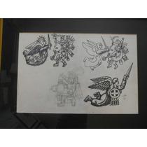 Jose Chavez Morado Dibujo Original Guerreros Certificado