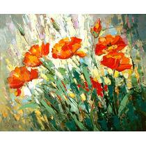 Poppies - Cuadros, Pinturas Al Oleo De Dmitry Spiros