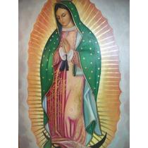 Cuadro En Oleo De La Virgen De Guadalupe ( Envió Gratis).