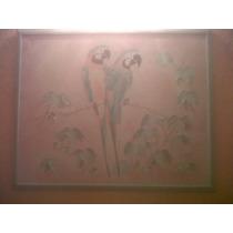 Excelente Pintura Al Oleo Con Relieve R.watson