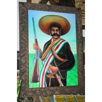 Emilano Zapata Pintura Acrilica
