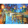 The Lights - Cuadros, Pinturas Al Oleo De Dmitry Spiros