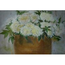 Pastel De La Academia Anonimo Flores Muy Bonito