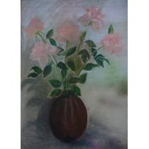 Pastel De Academia Rosas / Jarron Anonimo Pero Bellisimo