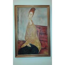 Óleo Pintado A Mano Reproducción Cuadro Modigliani