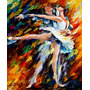 Ballet - Pintura Óleo Maestro Leonid Afremov, Animal