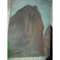 Paisaje Mexicano. Antigua 1972. Firmada Rogelio Flores