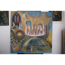 Pintura Al Oleo Sobre Tela Maestro Antonio Giménez Nuñez