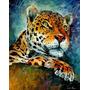 Leopard - Pintura Al Óleo Maestro Leonid Afremov, Animal