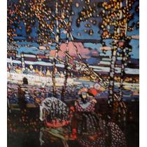Kandinsky Print *reintendes Paar* Austria Original