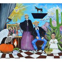 La Mujer Silenciosa Oleo Original Arte Kinkin