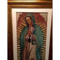 Virgen De Guadalupe Oleo/ Tela