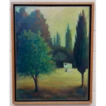Pintura Al Óleo. Enmarcada. Original Del Artista.
