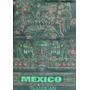 Tlalocan Tela Negra Serigrafia Antigua Reproducciön