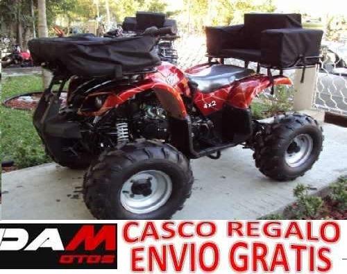 Cuatrimoto Hunter 10 -110cc - 125cc Aut-reversa 3 Versiones