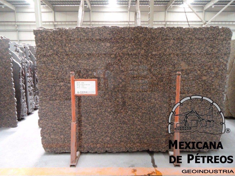 Cubiertas de granito baltic brown para cocinas integrales for Informacion sobre el granito