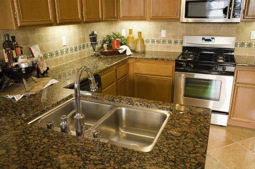 Cocinas de marmol y granito imagui for Cocinas en granito natural