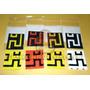 Stickers Reemplazo Para Cubo Maze Rubiks 3x3x3 6 Lados Mdn