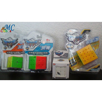 Rubik Cyclone Boys Combo 2x2 3x3 4x4 5x5 Stikerless Puebla