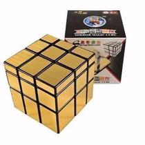 Cubo Rubik Mirror Shengshou Dorado, Azul O Plateado