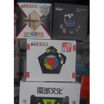 Combo Basico 1 Rubik: Pyraminx, Megaminx, Mirror, 3x3 Puebla