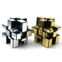 Cubo De Rubik Mirror Shengshou Plata Y Oro 3x3