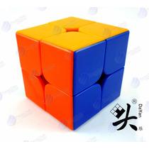 Cubo Rubik 2x2 Dayan Zhanchi Colored Stickerless Speedcube