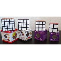 Rubik Shengshou Combo 2x2 3x3 4x4 5x5 Fondo Negro Puebla