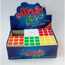 Cubo Rubik Magic Show 3x3 X Caja De 6 Piezas, Corta Esquinas