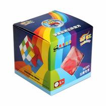 Cubo Rubik Shengshou 3x3 Rainbow Speed Cube Puzzle 3d