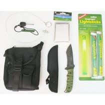 Kit Supervivencia M9271 - 7 Accesorios Envio Dhl Gratis!
