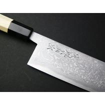 Tb Cuchillo Yoshihiro Suminagashi Damascus 10.5