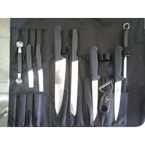 Cuchillos Victorinox Para Chef U Hogar De 10 Pzas Kit Plus