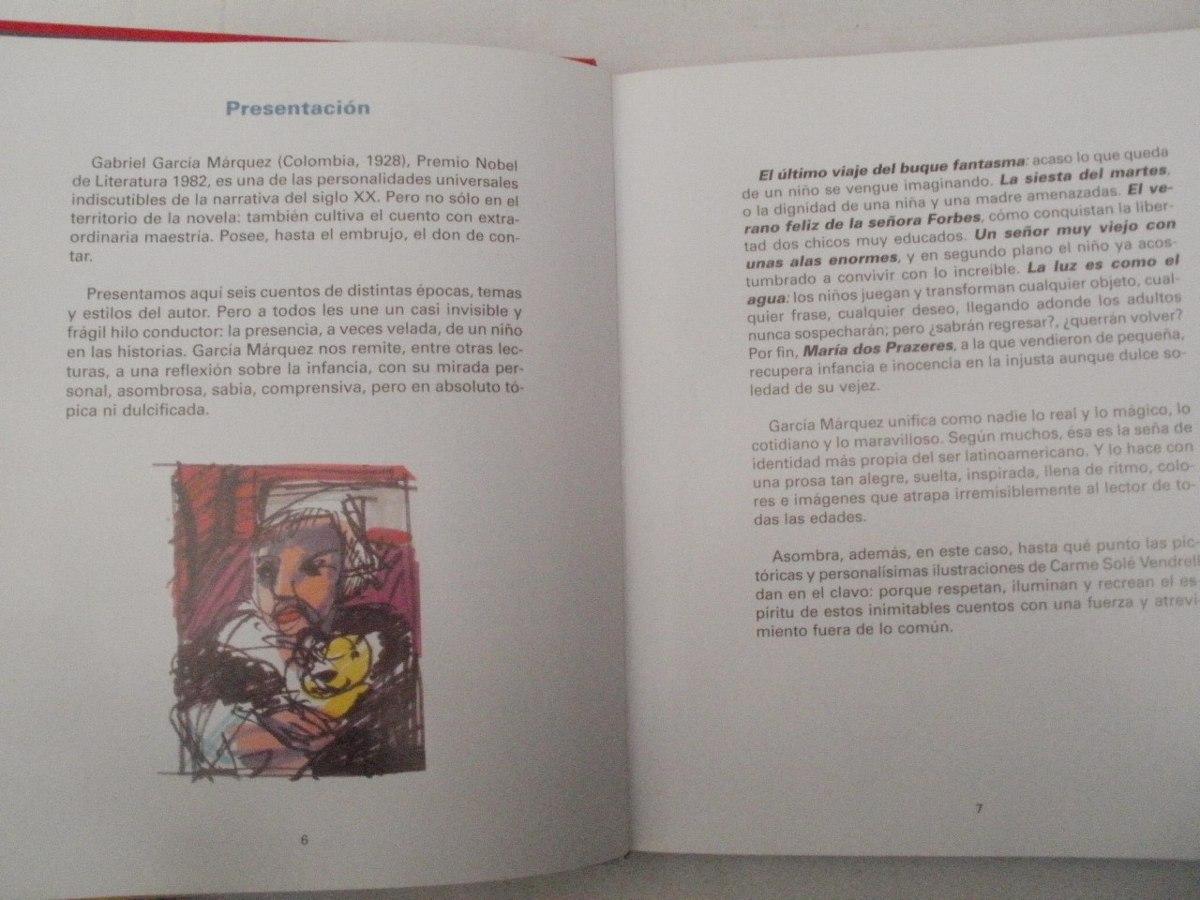 Cuentos gabriel garc a marquez 2001 en for Cuentos de gabriel garcia marquez