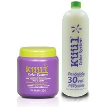 Kit Decolorante Küül Tarro 350 G Con Peróxido 870 Ml 30 Vol