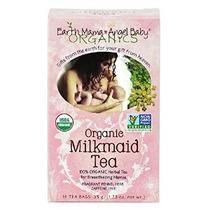 Tierra Mama Angel Baby Organic Tea Lechera Enfermería 16 Bol