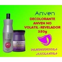 Decolorante Tarro No Volatil Anven 350g + 30vol 1 L