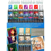 Spray Con Color Para Cabello Importado