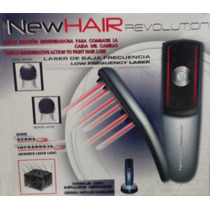 Cepillo Laser Capilar New Hair Revolution Cabello - Negro