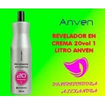 Revelador En Crema Con Aroma Anven 20vol 900ml