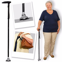 Baston Plegable Hurrycane Trusty Cane Confiable Seguro