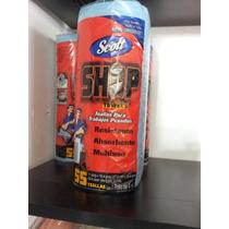 Toallas Azules Rollo 50pzs Para Limpiar Tus Pinceles!!