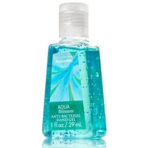 Minigel Antibacterial Bath And Body Works Aqua Blossom