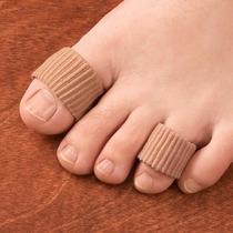 Protector De Gel Cubierto De Tela Suave Zapatos Comodidad