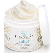 Era Organics Eczema Y Psoriasis Crema 4oz Advanced Healing C