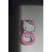 Destapador Magnetico De Hello Kitty Ideal Para Coleccion